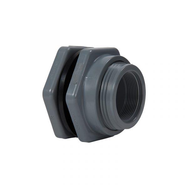 Serie BFAS – Conector o Adaptador para Tanque de 1/2″ a 3″ en PVC, CPVC y Polipropileno Marca Hayward