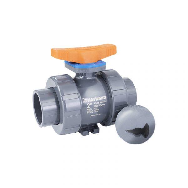 Serie CVH – Válvula de Bola de Control Proporcional de 1/2″ a 6″ en PVC y CPVC Marca Hayward