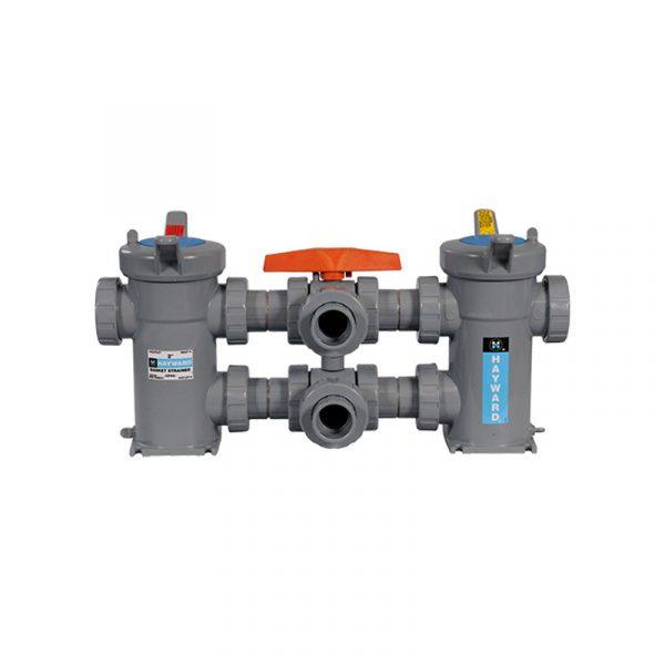 Serie SB – Filtro o Colador Tipo Canasta de 1/2″ a 8″ en PVC, CPVC, PVDF, EASTAR Y Polipropileno Marca Hayward