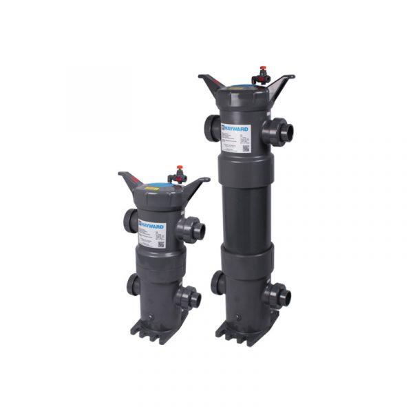 Serie FLV – Filtro de Bolsa en PVC, CPVC y PP. Longitud Sencilla (7″x16″) y Doble (7″x32″) Marca Hayward