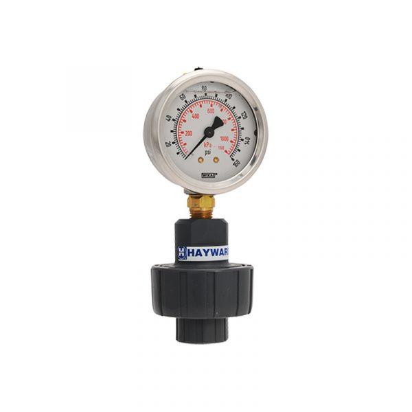 Serie GG – Sello Químico ó Protector de Manómetro en 1/4″ x 1/4″ y 1/4″ x 1/2″ en PVC, CPVC, Polipropileno y PVDF Marca Hayward