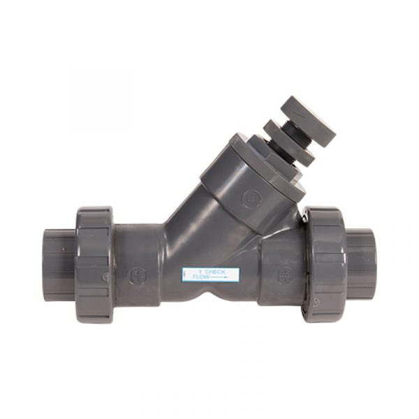 Serie SLC – Válvula de Retención Tipo Y de Resorte de 1/2″ a 4″ en PVC Marca Hayward